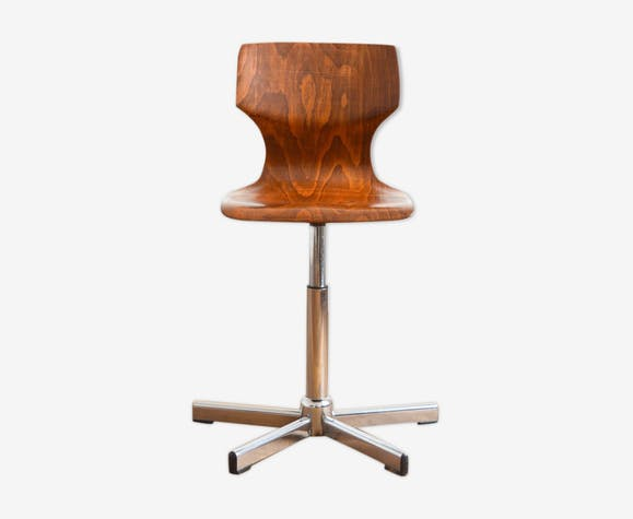 Chaise par Elmar Flötotto pour Pagholz vintage 1970