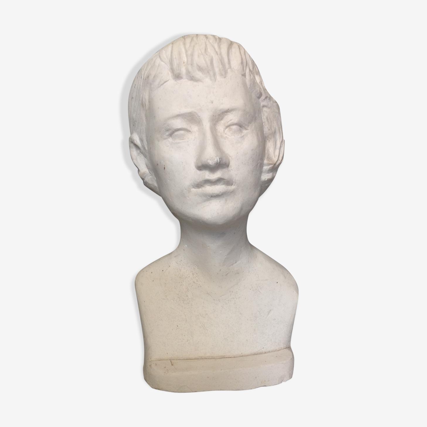 Head in plaster