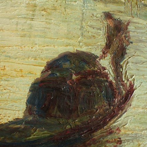 Huile sur panneau par Italo Giordani