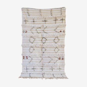 Tapis handira marocain 95x210cm
