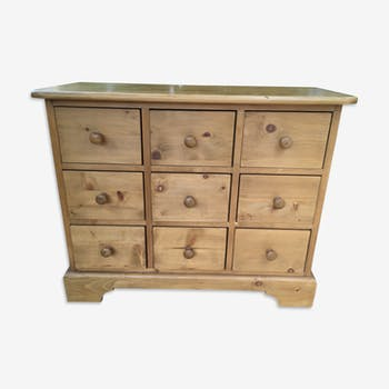 Piece of solid pine craft furniture