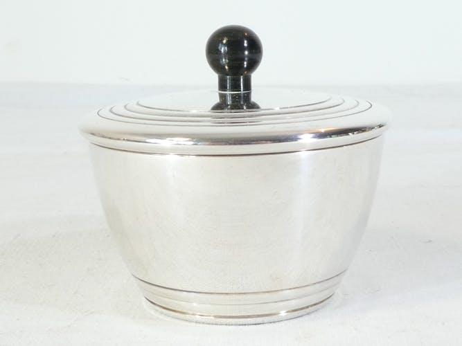 Service a café christofle en métal argenté modele charleston