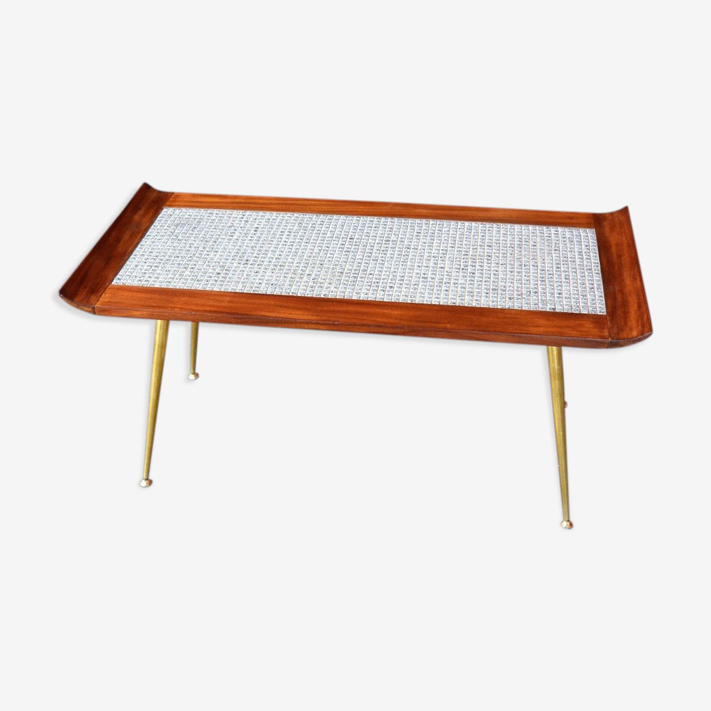 Table basse avec mosaïques