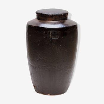 Jarre japonaise en céramique