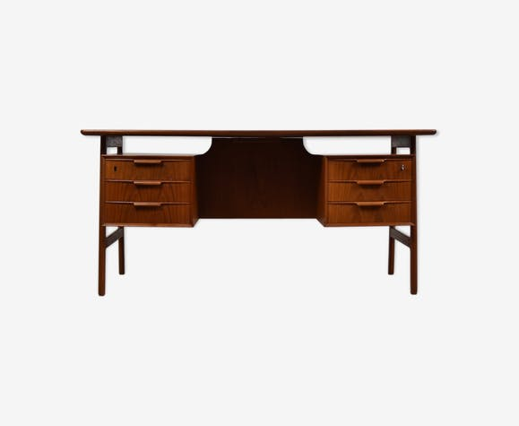 Writing desk by Gunni Omann for Omann Jun Mobelfabrik, Denmark 1960's