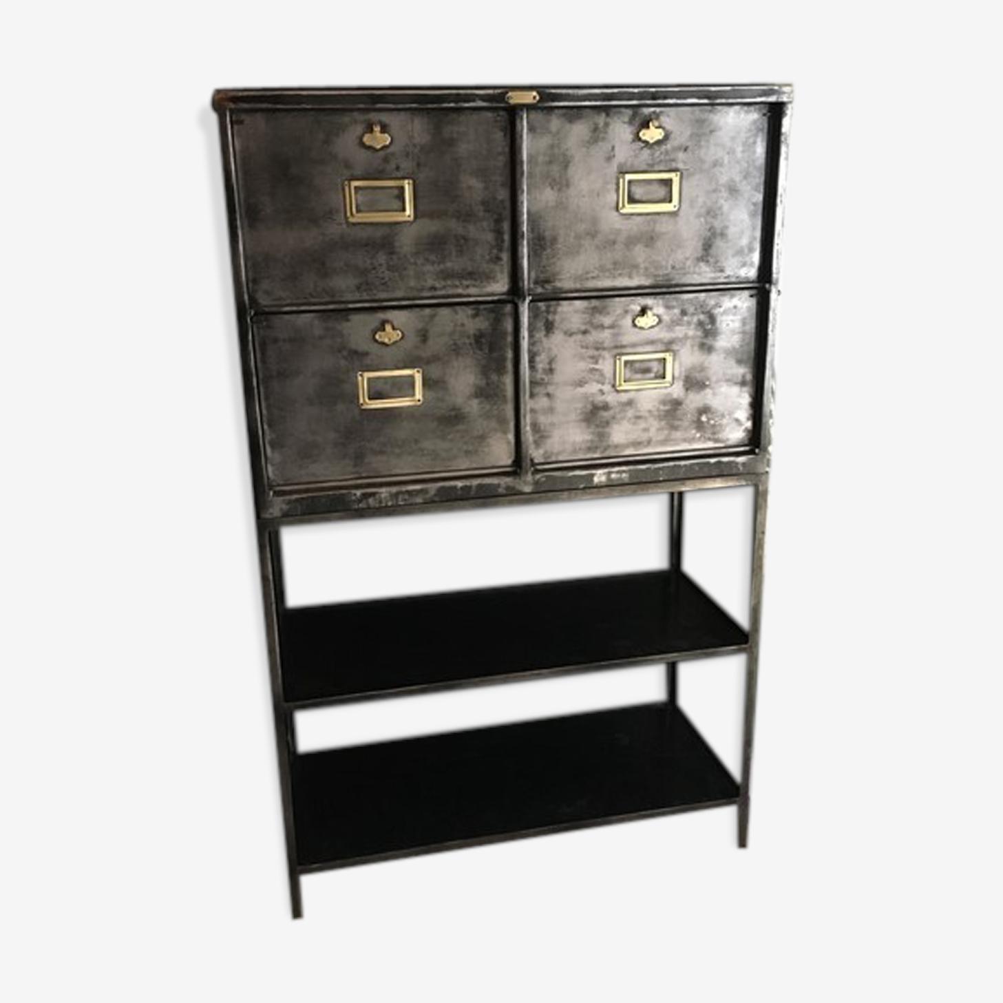 Cabinet industriel à 4 clapets 1940