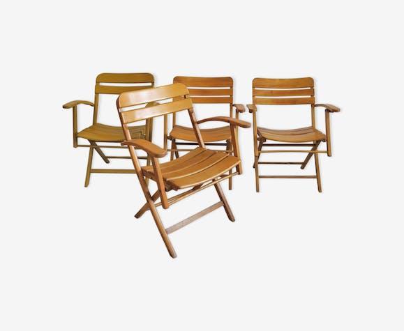 Ensemble de 4 fauteuils pliants Sollinger