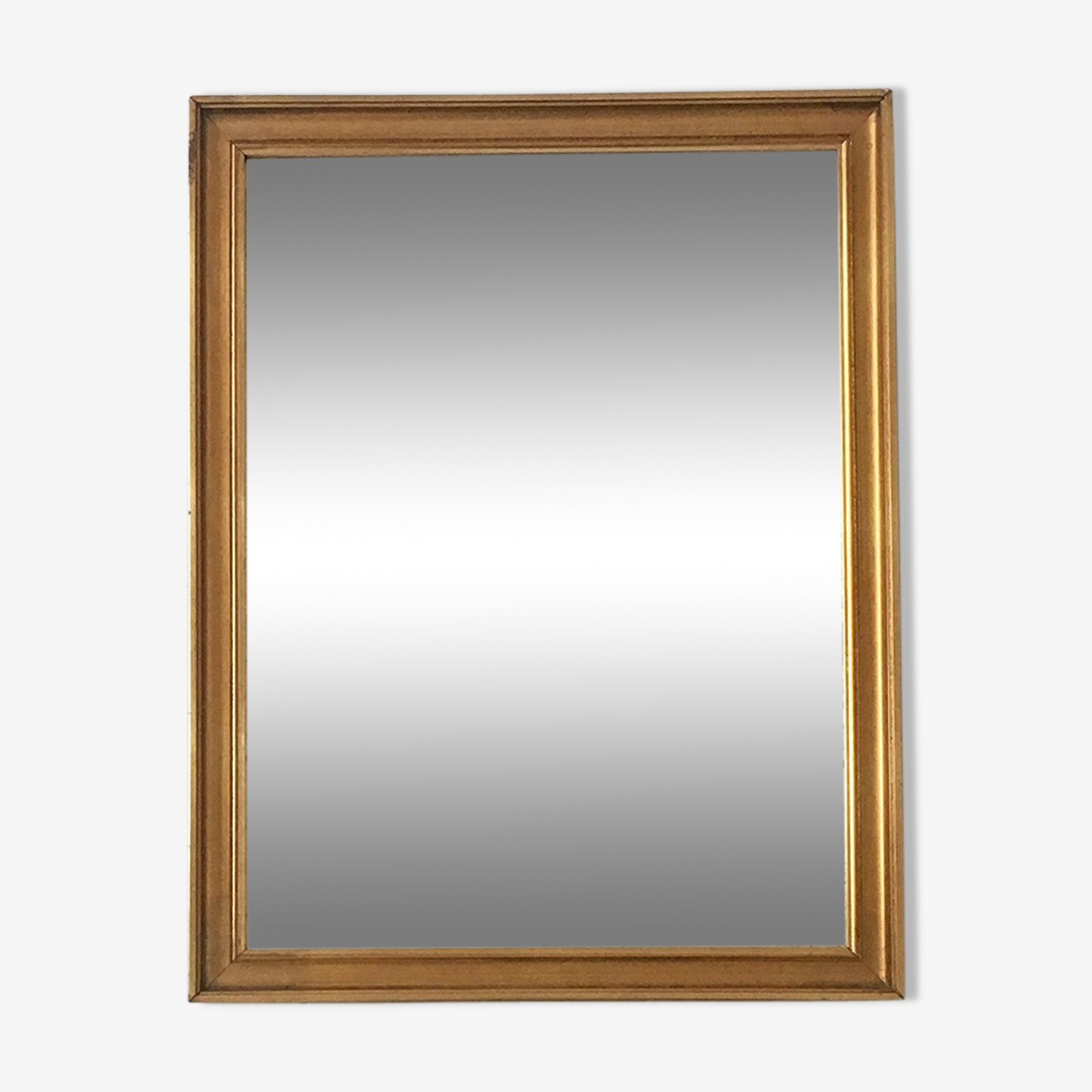 Golden vintage mirror 41x53cm