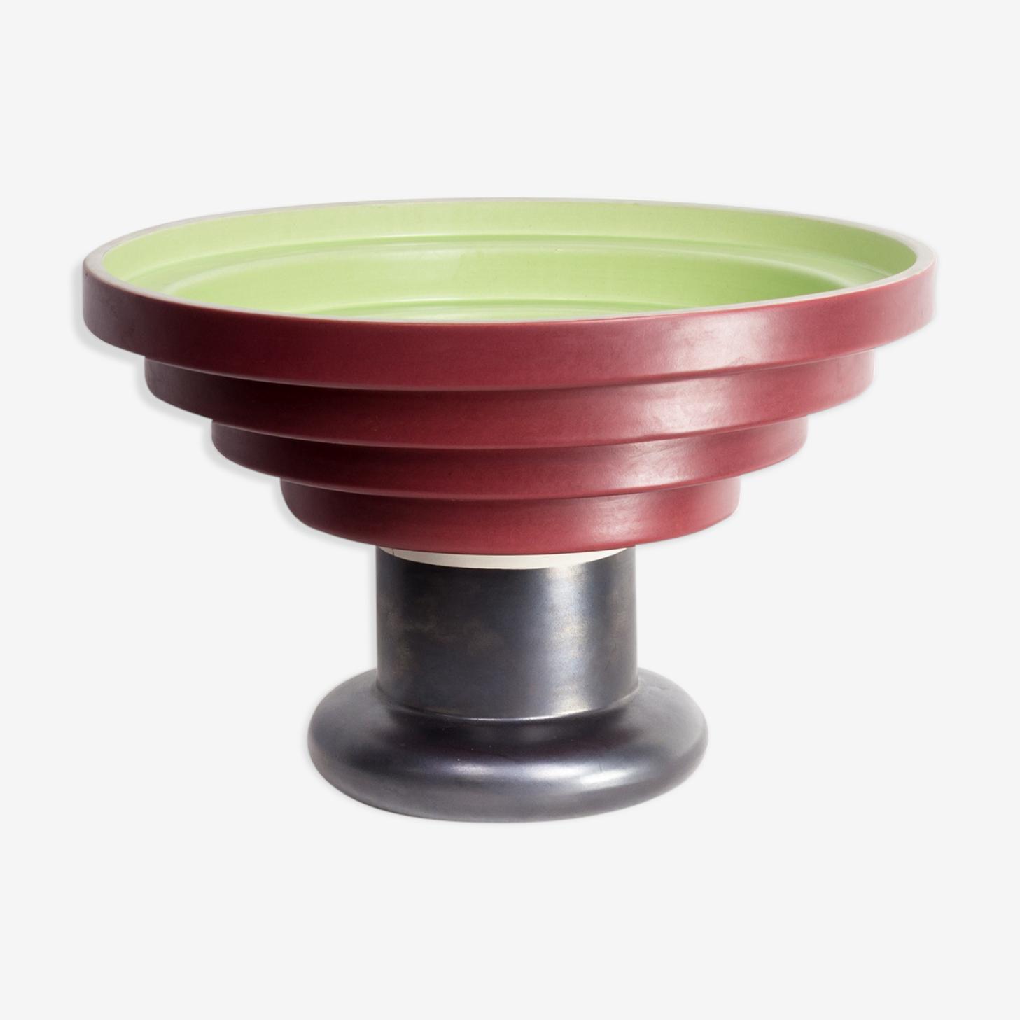 Vase Ettore Sottsass pour Bitossi Montelupo