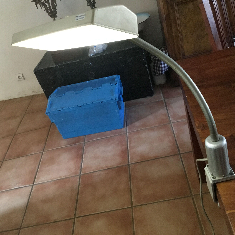 60/LED Lampe de KINZO Tige Lampe datelier Baladeuse atelier Lampe