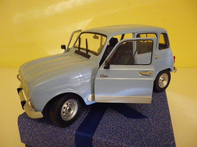 Renault 4 GTL  clan de collection - Solido - 1/18 - boite d'origine
