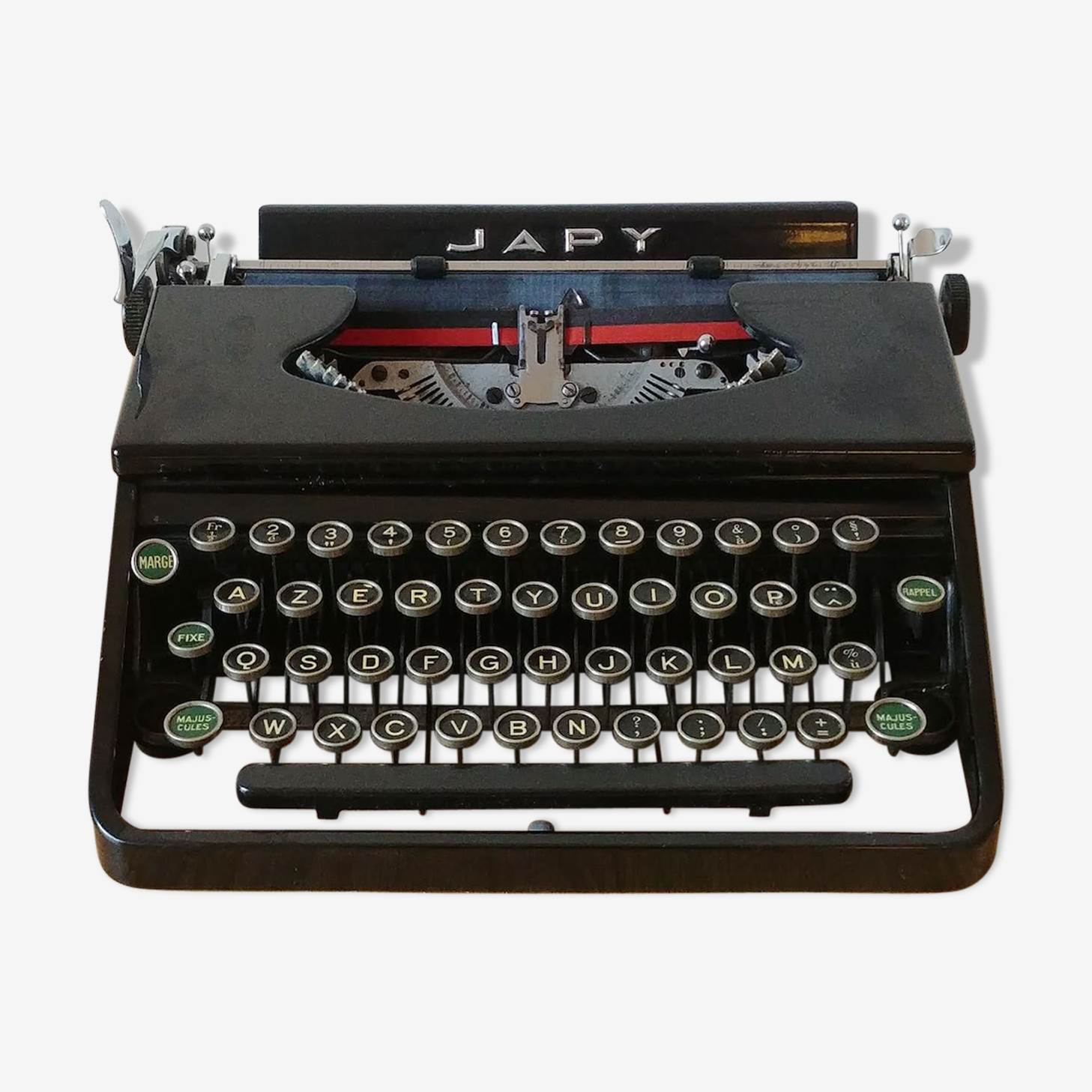 Machine à écrire Japy P6