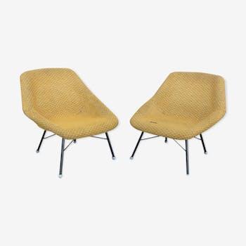 Pair of chairs Miroslav Navratil 1960