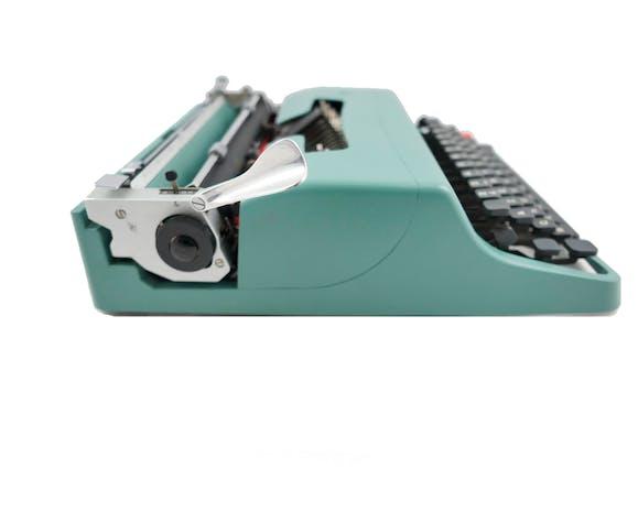 Machine à écrire Olivetti Lettera 32 - révisée ruban neuf