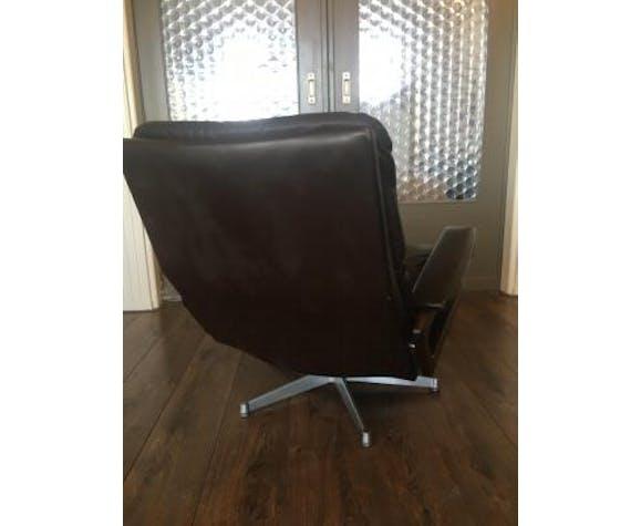 Chair swivel King by André Vandenbroeck for Strässle Vintage