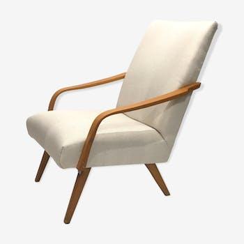 60s chair white