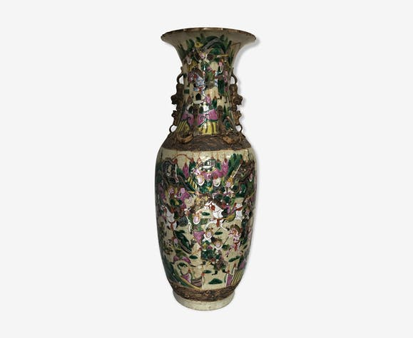 Vase de Chine Porcelaine Nankin