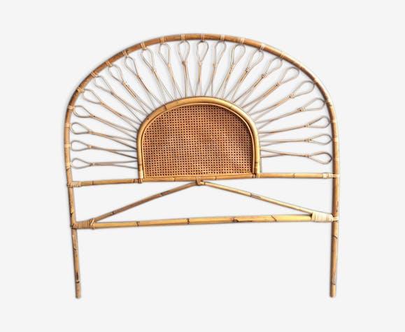 Tête de lit rotin 140 cm - rotin et osier - bois (Couleur) - vintage ...