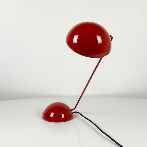 """Lampe de table """"Bikini"""" Rouge par Barbieri & Marianelli pour Tronconi, 1970"""