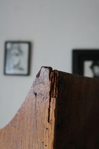 Vitrine ancienne en chêne