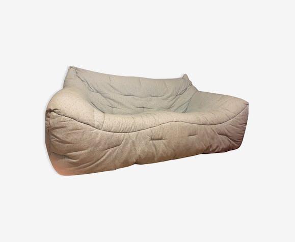 canap informel roche bobois tissu bleu vintage. Black Bedroom Furniture Sets. Home Design Ideas
