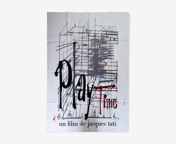 Affiche originale Playtime (film - 1967)
