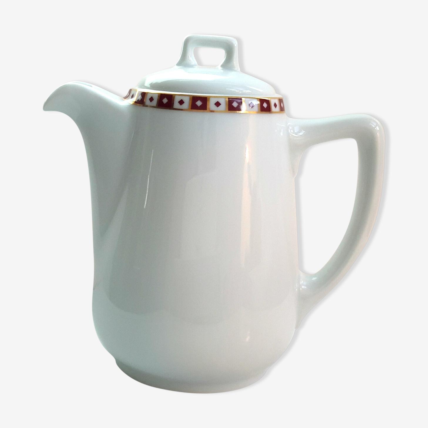 Théière en porcelaine Royal Limoges GDA
