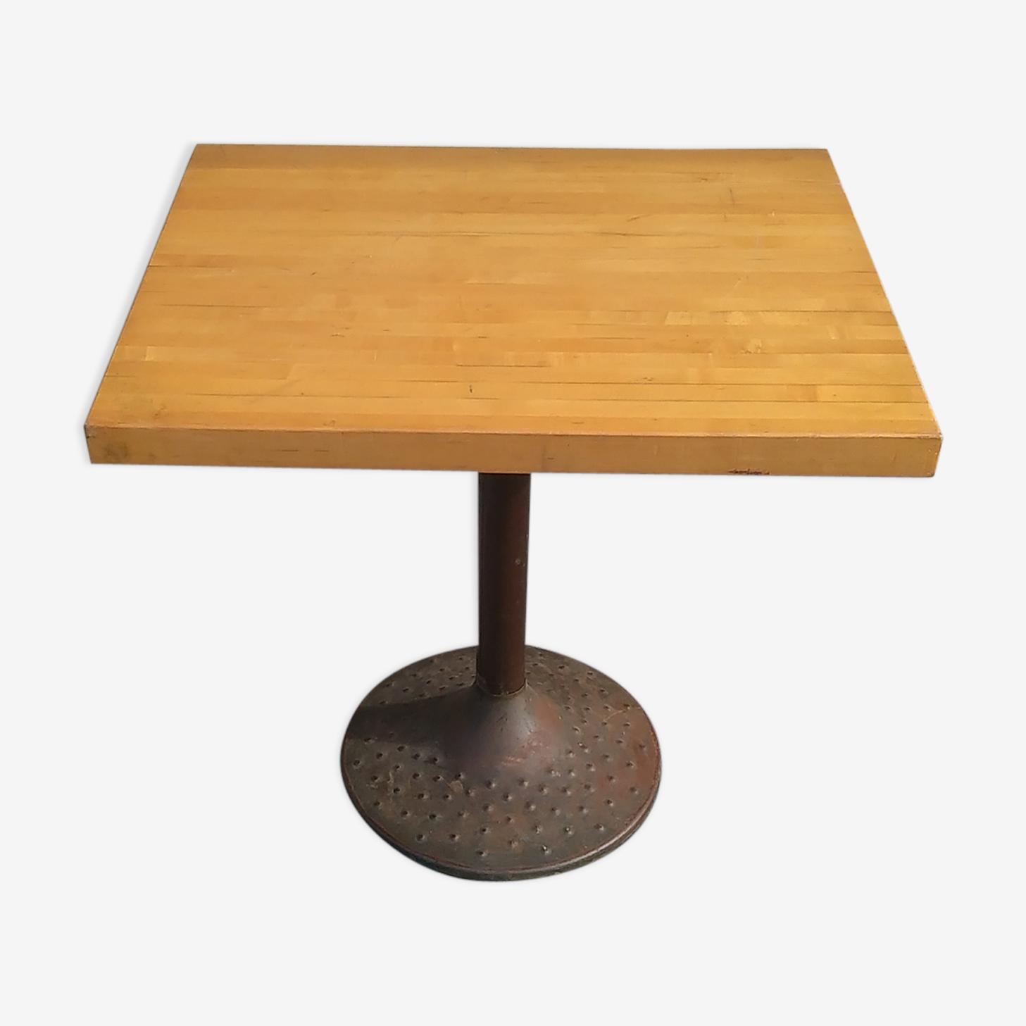 Table en pin  années 1960