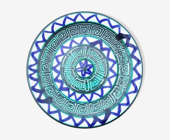 Assiette en céramique de Robert Picault - Vallauris