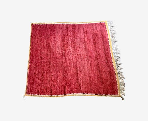 Tapis vintage rouge 1950