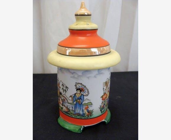 En Parfum Céramique Irisée Porcelaine Veilleuse Lampe Brule Y76yIbfgv