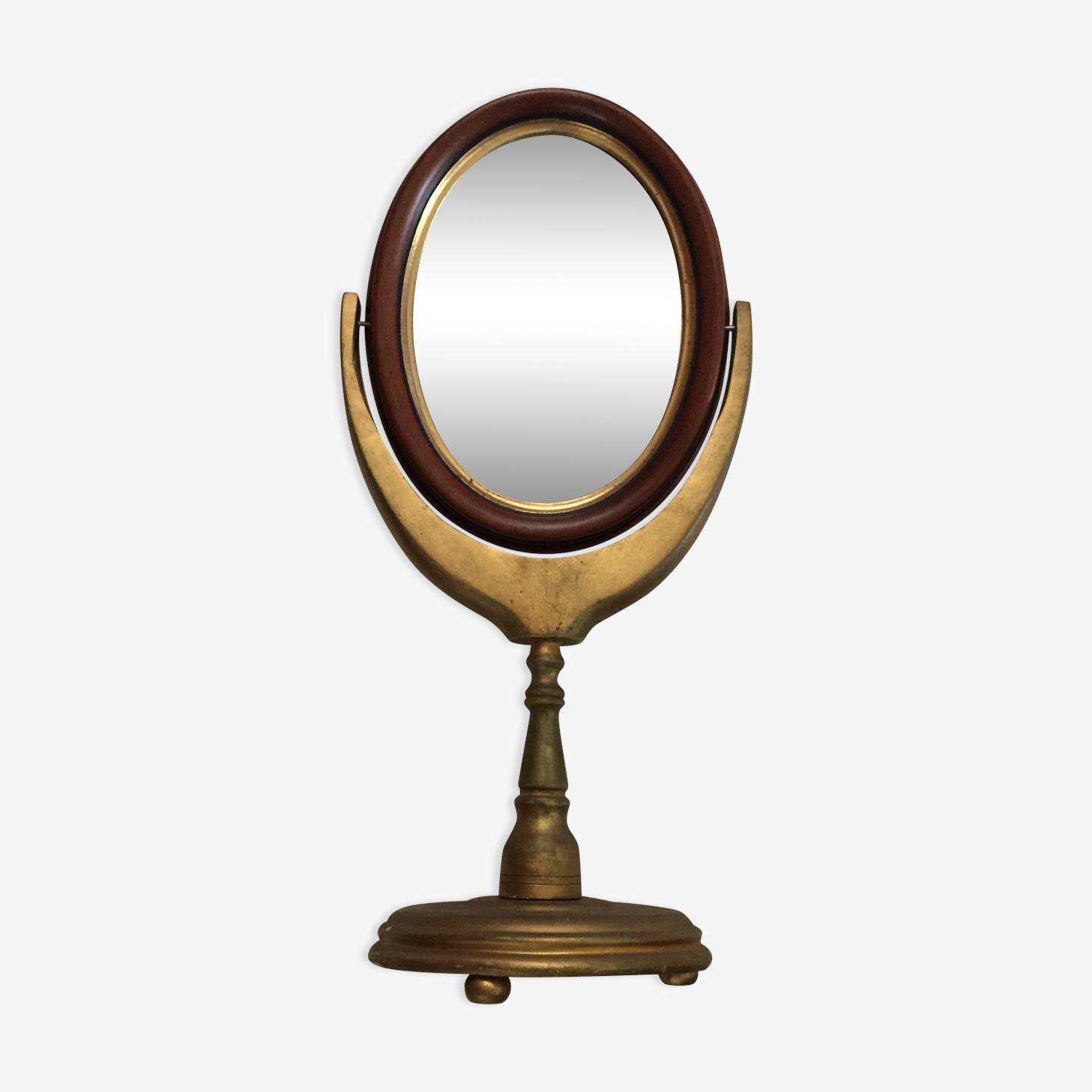 Miroir pivotant  sur pied 24x50cm