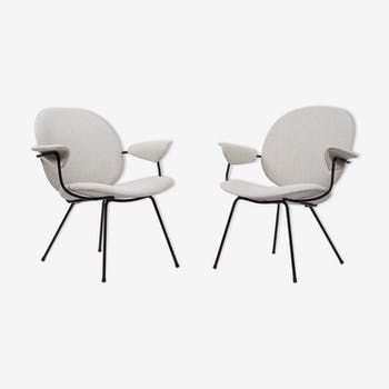 Pair of chairs the 1950s Gispen