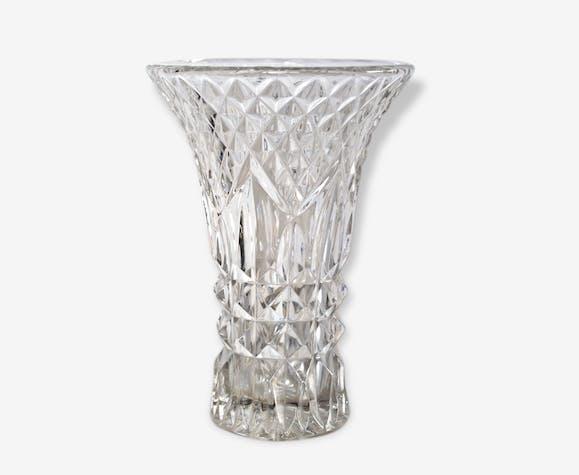 Vase Cristal Ou Verre Taill Verre Et Cristal Transparent Art