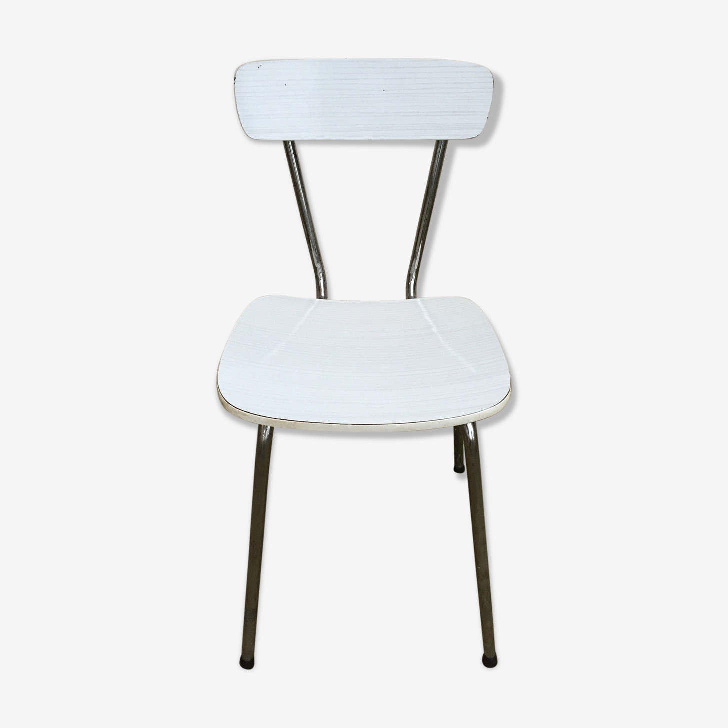 Chaises Formica Blanche Vintage Cuisine Annees 60 Formica Blanc