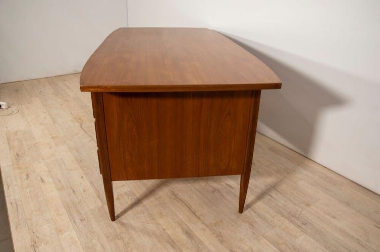 Mid-century danish teak desk, 1960