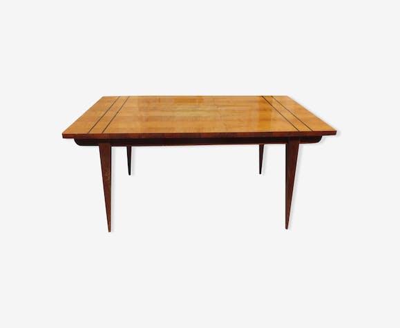 Table en citronnier années 50/60