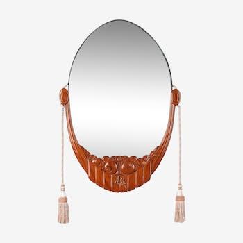Miroir art déco 56x80cm