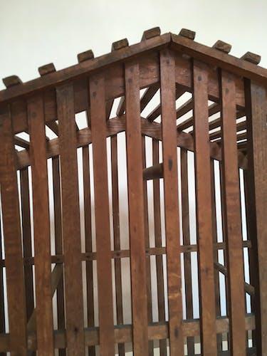 Wooden birdcage, popular art 40