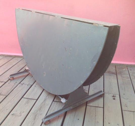 Industrial workshop steel table