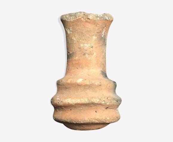 Fiole en céramique XVII et XIXe Abomey Afrique Royaume du Danhomè Benin