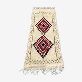 Carpet Berber azilal Moroccan 180x75cm