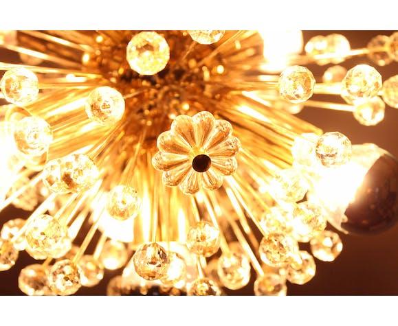 Lustre Sputnik par Emil Stejnar pour Rupert Nikoll fabriqué par ORION Leuchten