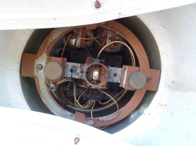 Suspension Philips NVF 250  1950