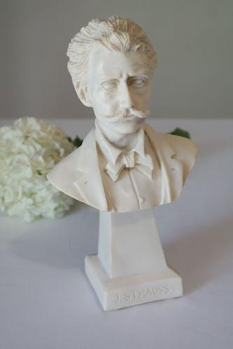 Buste J.Strauss XXème