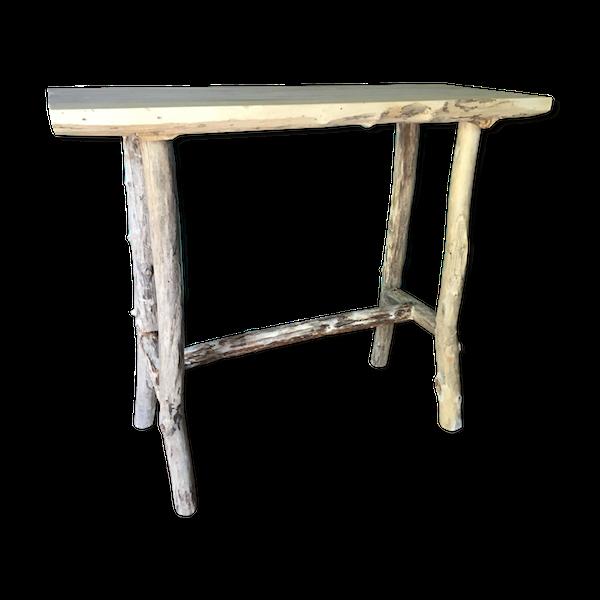 Console réalisé en bois flotté