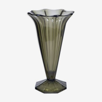 30 years cast glass vase