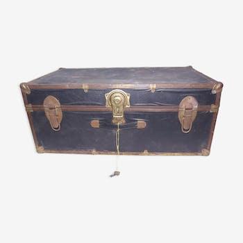 valise bo te chapeau vintage d 39 occasion. Black Bedroom Furniture Sets. Home Design Ideas