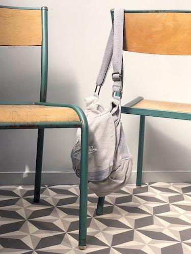 Paire de chaise mullca 510
