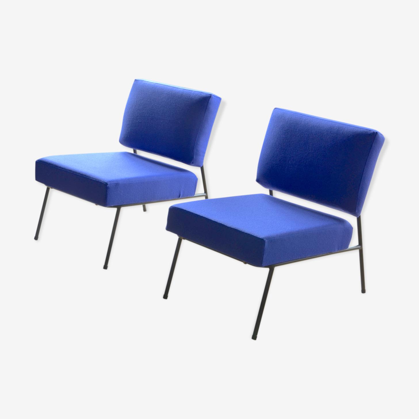 Paire de fauteuils de Pierre Guariche Airborne 1950